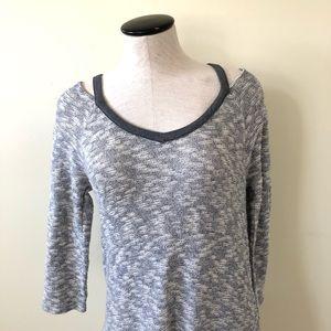 Anthropologie Dresses - Saturday Sunday gray marled sweater dress